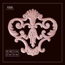 1005 Embossed Applique