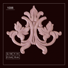 1006 Embossed Applique