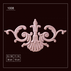 1008 Embossed Applique