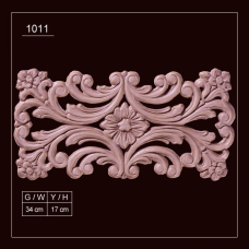 1011 Embossed Applique