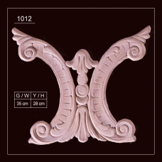 1012 Embossed Applique