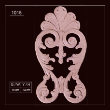 1015 Embossed Applique