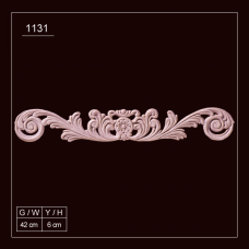 1131 Embossed Applique