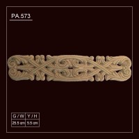 PA.573 Flexible Wood Applique