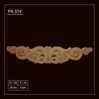 PA.574 Flexible Wood Applique