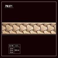 PM.871 Flexible Wood Moulding