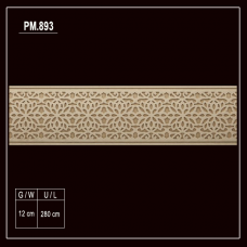 PM.893 Flexible Wood Moulding